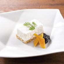 Rare cheesecake