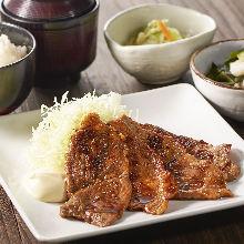 北海道豚生姜焼き定食