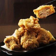 Fried locally raised chicken