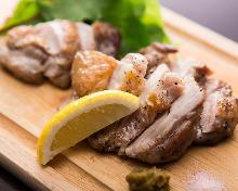 千葉産 ハーブ鶏 もも肉塩焼き