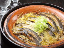 Japanese loach hotpot