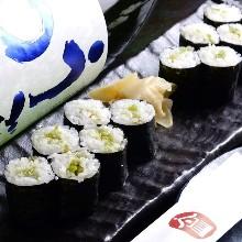 Wasabi sushi rolls