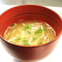 Corbicula soup