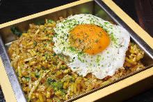Soba Meshi (buckwheat noodles)