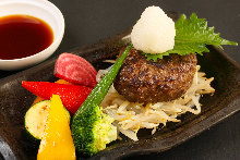 Wagyu hamburger steak