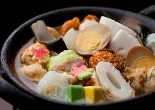 Assorted oden, 7 kinds
