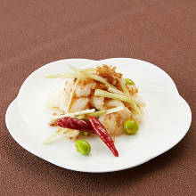 Stir-fried shrimp with XO sauce