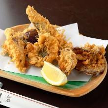 Assorted tempura of the season