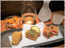 Cheese tempura