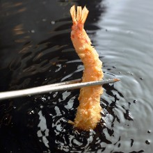 Japanese tiger prawn tempura