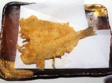 Smelt-whiting tempura