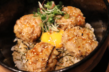Meatball rice bowl