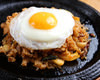 Fried rice with kimchi flavor
