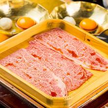 Marbled meat yakiniku