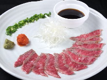 Seared beef
