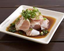 Chicken with ponzu