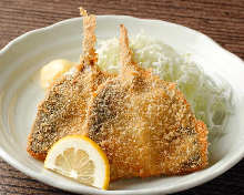 Deep-fried horse mackerel