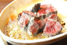 Wagyu beef tenderloin steak