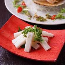 Chinese yam salad