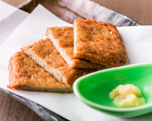 Fried fish paste