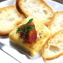Miso-marinated cream cheese