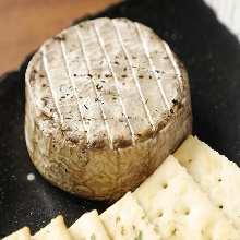 Seared cheese