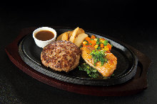Hamburg steak set