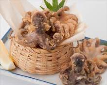 Fried octopus