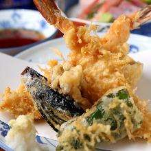 ≪上≫天ぷら定食
