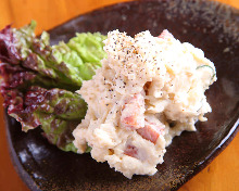 Anchovy and potato salad