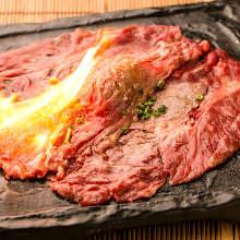 Horse sashitoro meat sushil
