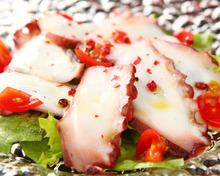 淡路島明石蛸のカルパッチョ