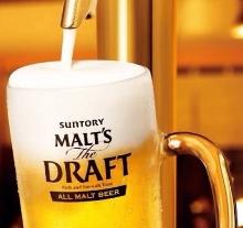 Suntory malt's the DRAFT