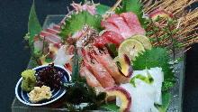 旬鮮魚のおまかせ箱盛り