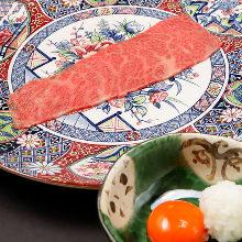 Chuck flap sukiyaki