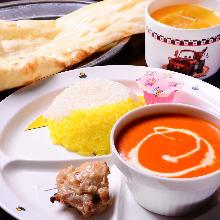 Kids' curry set