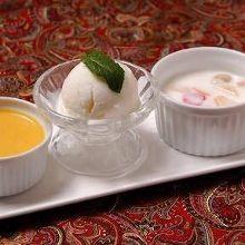 Assorted Indian dessert, 3 kinds