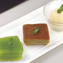 Assorted Thai dessert, 3 kinds
