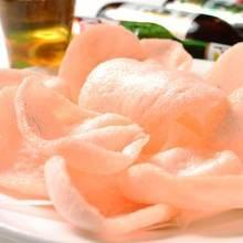 Shrimp rice crackers