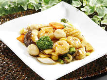 Stir-fried gomoku vegetables