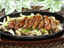 Wagyu beef teppanyaki