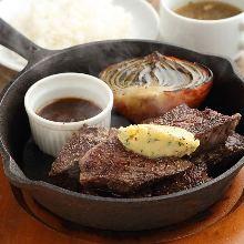 Wagyu beef steak lunch set