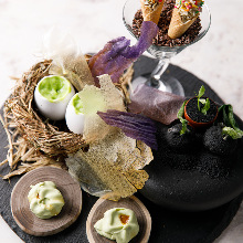 Assorted appetizers, 5 kinds