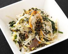Seasoned Korean vegetables