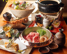 9,900 JPY Course (7 Items)