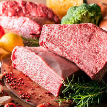 Wagyu beef loin steak