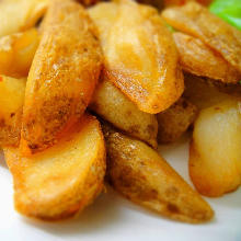 Anchovy and potato