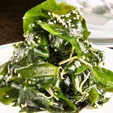 Namul (Korean seasoned vegetables or wild greens)