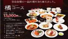 13,000 JPY Course