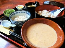 """Tororo"" grated Japanese yam set meal"
